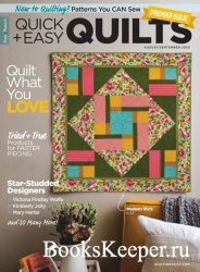 McCall's Quick Quilts - August/September 2020