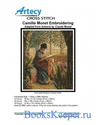 Artecy Cross Stitch  - Camille Monet Embroidering