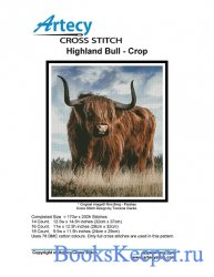 Artecy Cross Stitch - Highland Bull