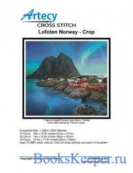 Artecy Cross Stitch - Lofoten, Norway
