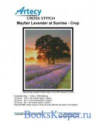 Artecy Cross Stitch - Mayfair Lavender at Sunrise