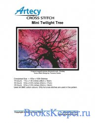 Artecy Cross Stitch - Mini Twilight Tree
