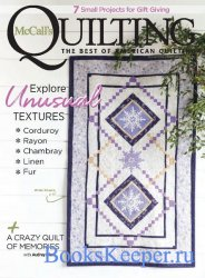 McCall's Quilting Vol.27 №6 2020