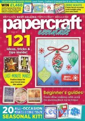 Papercraft Essentials - November 2020