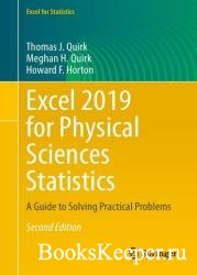 Excel 2019 for Physical Sciences Statistics: A Guide to Solving Practical Problems