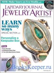 Lapidary Journal Jewelry Artist - March 2021