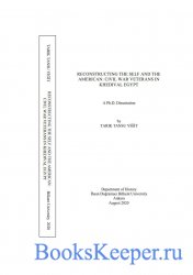 Reconstructing the self and the American : Civil War veterans in khedival E ...